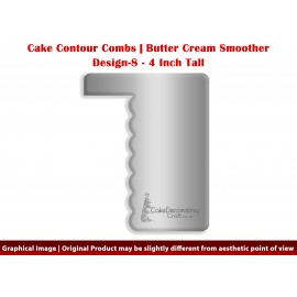 4 Inch Cake Combs