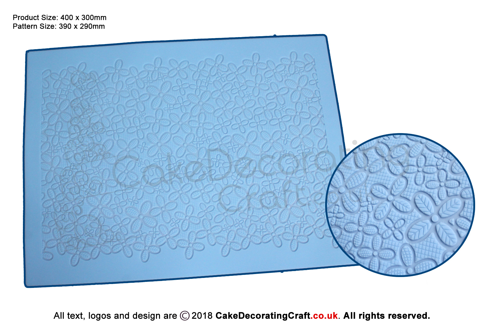 3d Daisy Lace Fabric Cake Lace Mats For Edible Cake Lace