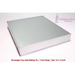 Rectangle Cake Baking Tray