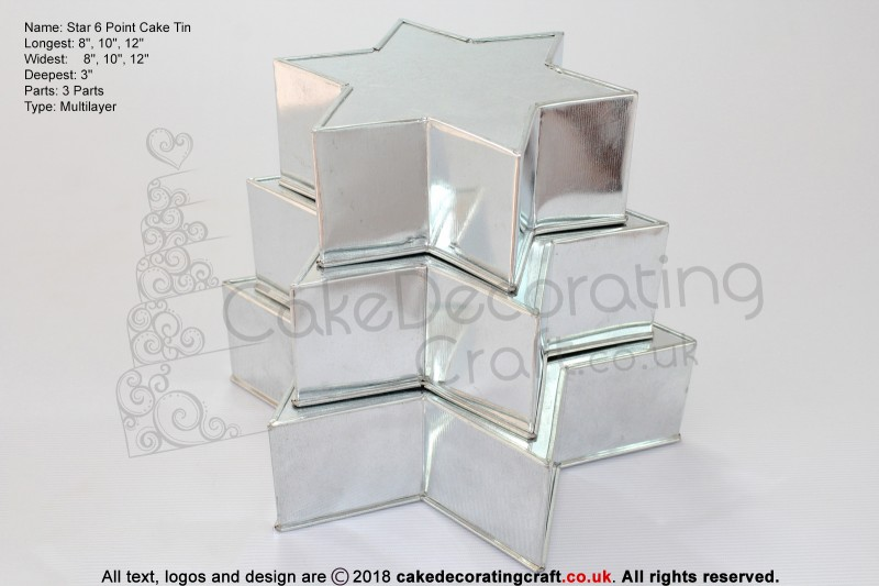 """Star Cake Baking Tin 