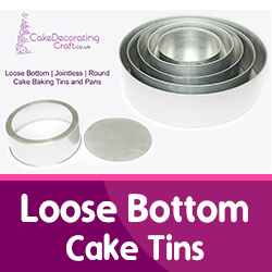 Loose Bottom Cake Tins