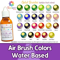 Air Brush Colors | Water Based