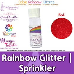 Rainbow Glitter | Sprinkler | Edible