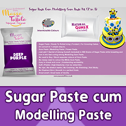 Sugar Paste cum Modelling Paste