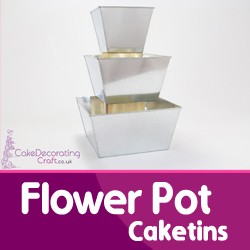 Flower Pot Cake Tins
