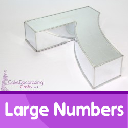 Large Number Cake Tins
