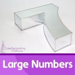 Large Number Cake Tins