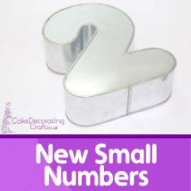 New Small Number Cake Tins