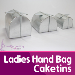 Ladies Hand Bag Cake Tins