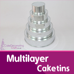 Multi Layer Cake tins