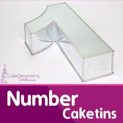 Number Cake Tins