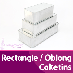 Rectangle Oblong Cake Tin