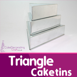 Triangle Cake Tins