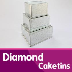 Diamond Cake Tins