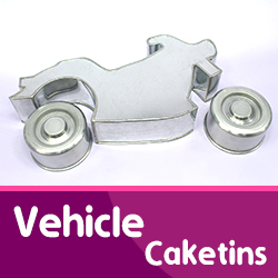 Vehicle Cake Tins