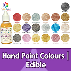 Hand Paint Colours | Edible