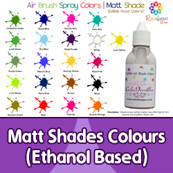 Matt Shades Colours | Ethanol Based