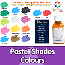 Pastel Paint Shades Colours